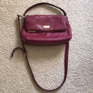 Kate Spade burgundy crossbody bag ❤️❤️❤️